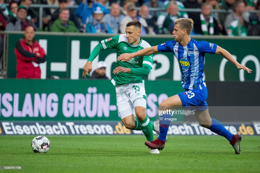 SV Werder Bremen v Hertha BSC - Bundesliga : News Photo