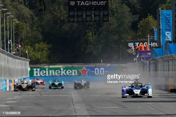 Maximilian Günther of Germany for BMW i Andretti Motorsport team wins the E-Prix Antofagasta Minerals as part the third round of the ABB FIA Formula...