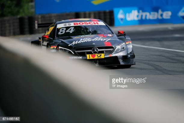 Maximilian Goetz drives during the race of the DTM 2016 German Touring Car Championship at Norisring on June 25 2016 in Nuernberg Germany