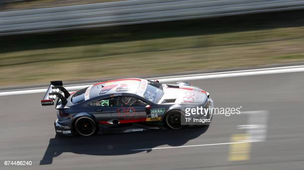 Maximilian Goetz drives during the race of the DTM 2016 German Touring Car Championship at Nuerburgring on Septembmber 10 2016 in Nuerburg Germany