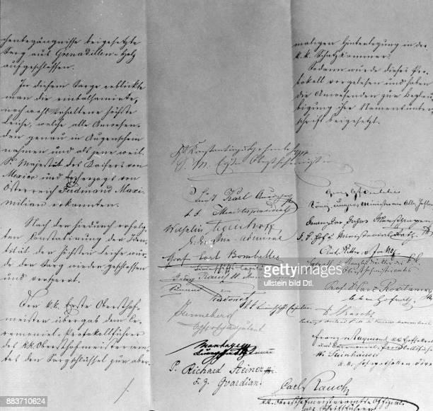 Maximilian I oder Erzherzog Ferdinand Maximilian Joseph Maria von Österreich *0607183219061867 Kaiser von Mexiko während der Mexikanischen...