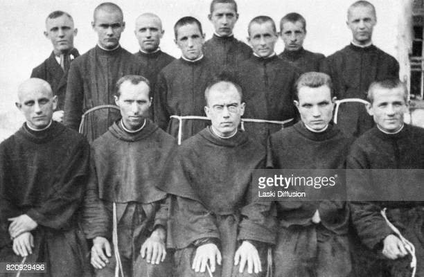 Maximilian Kolbe Polish Conventual Franciscan friar who volunteered to die in place of a stranger in the German death camp of Auschwitz located in...