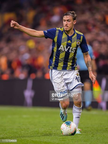 Maximilian Kruse of Fenerbahce SK during the Turkish Spor Toto Super Lig match between Galatasaray SK and Fenerbahce AS at the Turk Telekom Arena on...