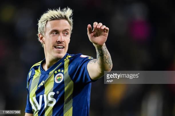 Maximilian Kruse of Fenerbahce SK during the Ziraat Turkiye Kupasi match between Fenerbahce AS and Istikbal Mobilya Kayserispor at the Ulker Stadyumu...