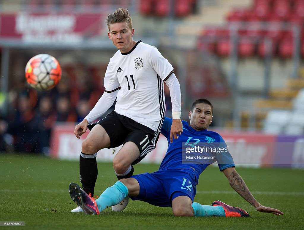 Germany U20 v Netherlands U20 - International Match : Nachrichtenfoto