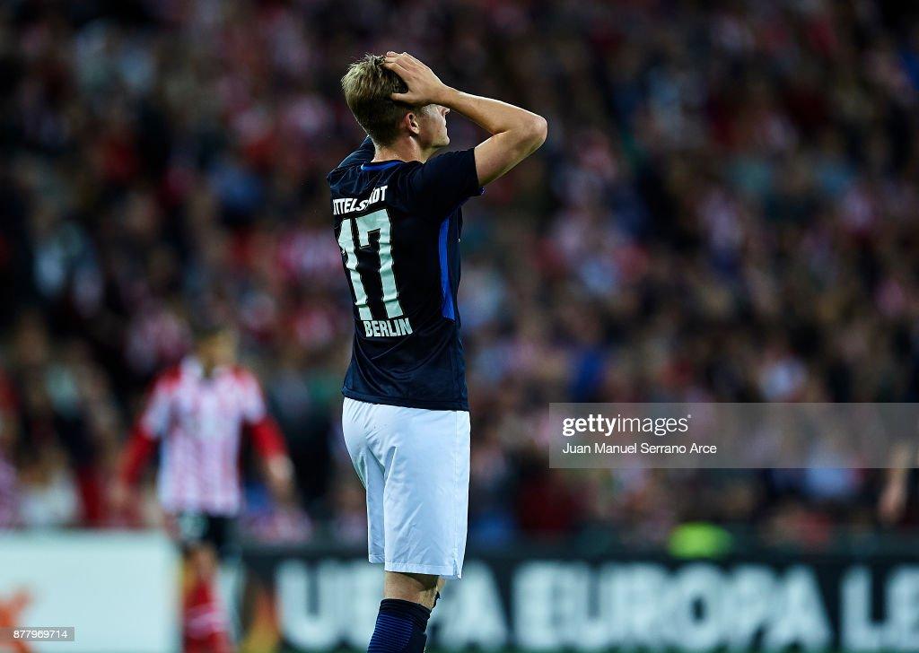 Athletic Bilbao v Hertha BSC - UEFA Europa League
