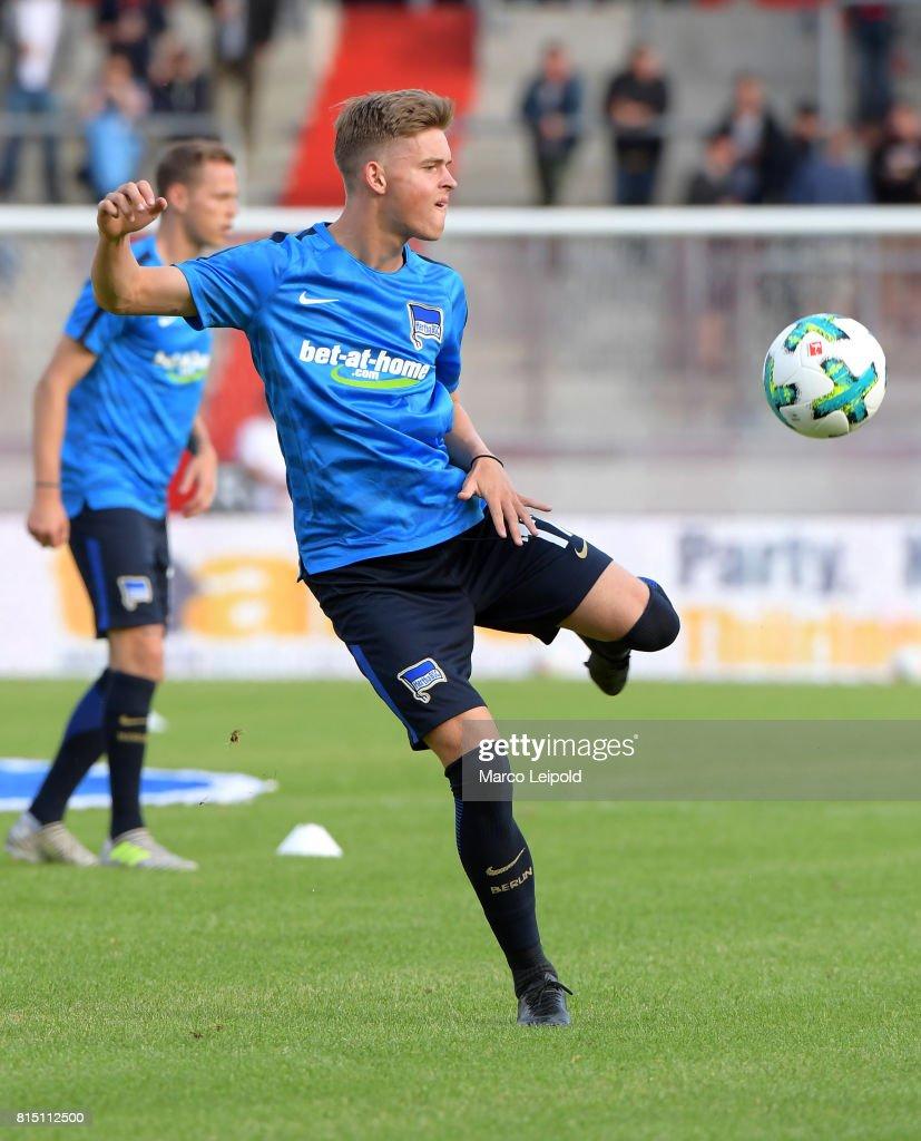 FC Rot-Weiss Erfurt v Hertha BSC - test match