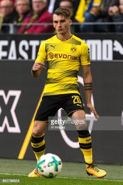Maximilian Philipp of Borussia Dortmund during the Bundesliga match between Borussia Dortmund and Borussia Mönchengladbach on September 23 2017 at...