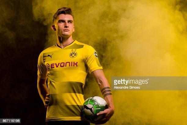 Maximilian Philipp of Borussia Dortmund poses for a portrait on October 25 2017 in Dortmund Germany