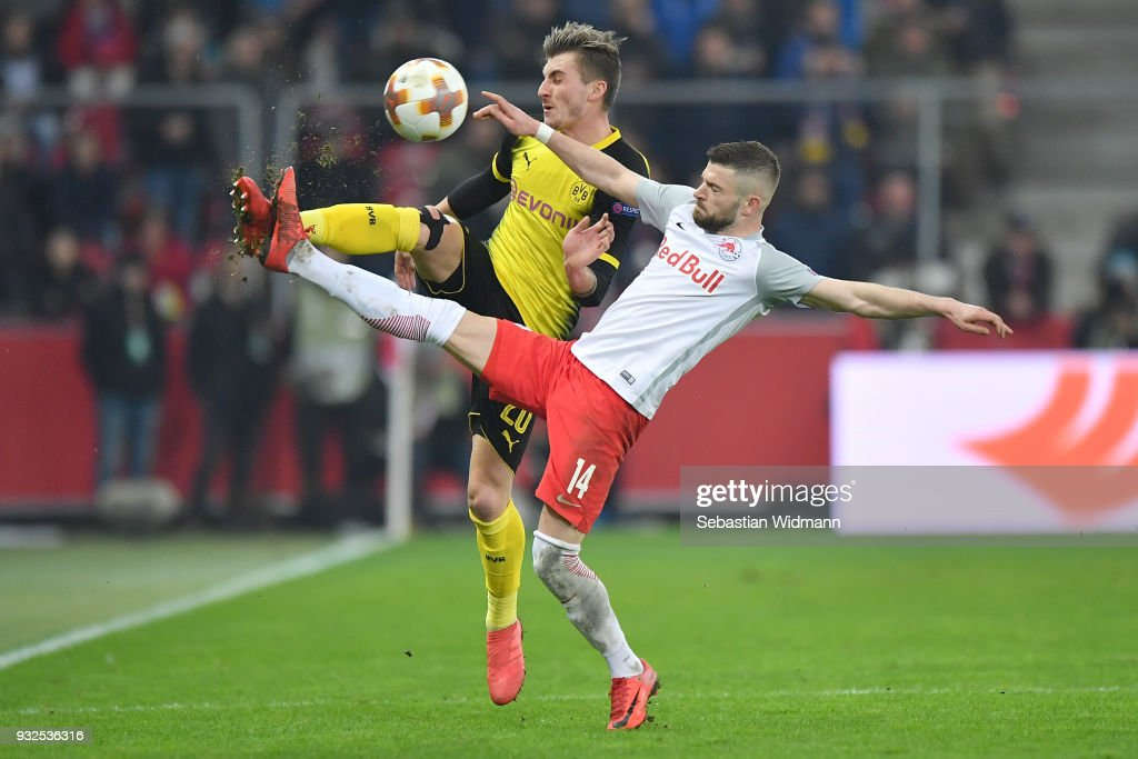 FC Red Bull Salzburg v Borussia Dortmund - UEFA Europa League Round of 16: Second Leg