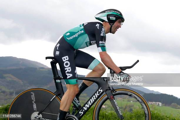 Maximilian Schachmann of Germany and Team Bora - Hansgrohe / during the 59th Itzulia-Vuelta Ciclista Pais Vasco 2019, Stage 1 a 11,2km Individual...