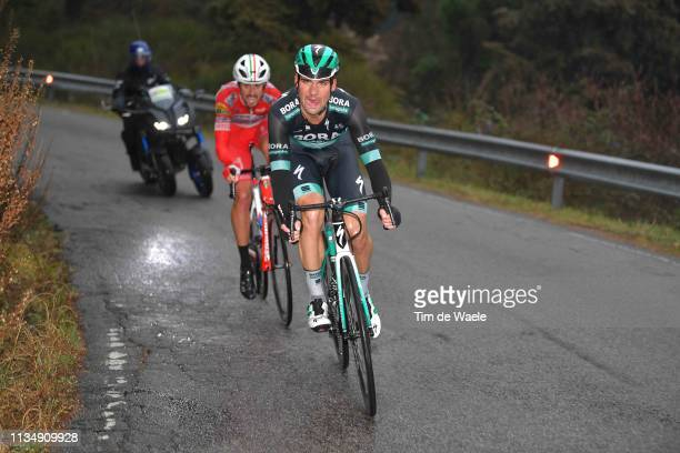 Maximilian Schachmann of Germany and Team Bora-Hansgrohe / Mattia Cattaneo of Italy and Team Androni Giocattoli - Sidermec / during the 42nd GP...