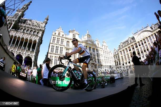 Maximilian Schachmann of Germany and Team Bora-Hansgrohe / Public / Fans / Landscape / during the 106th Tour de France 2019 - Team Presentation /...