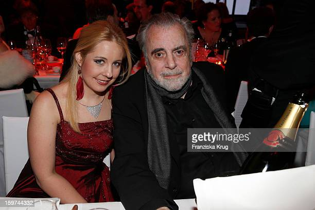 Maximilian Schell and his daughter Nastassja Schell attend the Germany Filmball 2013 on January 19 2013 in Munich Germany
