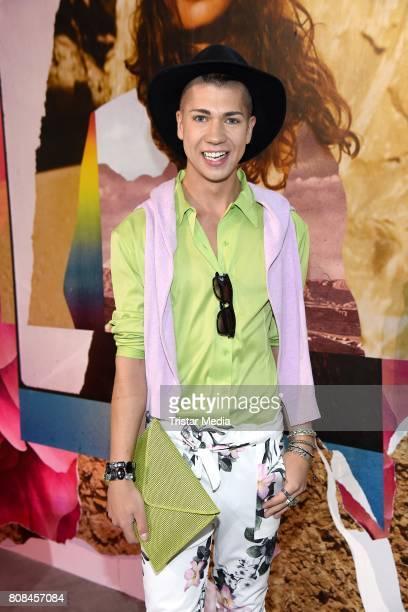 Maximilian Seitz attends the Ewa Herzog show during the MercedesBenz Fashion Week Berlin Spring/Summer 2018 at Kaufhaus Jandorf on July 4 2017 in...