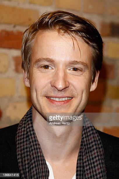 Maximilian von Pufendorf attends the 'Offroad' premiere at cinema Kulturbrauerei on January 9 2012 in Berlin Germany