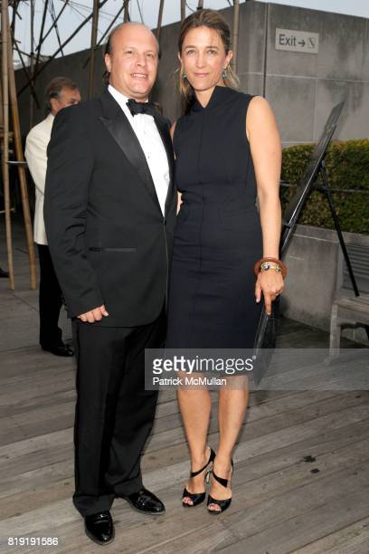 Maximilian Weiner and Vanessa von Bismarck attend HAUT BRION 75th Anniversary at The Metropolitan Museum of Art on July 12 2010 in New York City