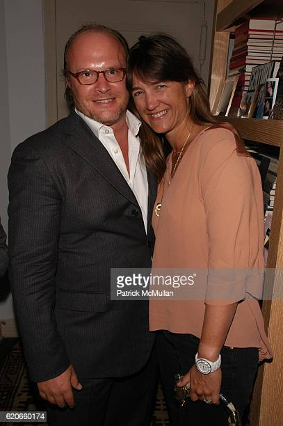 Maximilian Weiner and Vanessa von Bismarck Weiner attend CARLOS MOTA celebrates the New Year and toasts Carlos Souza upon his departure from...
