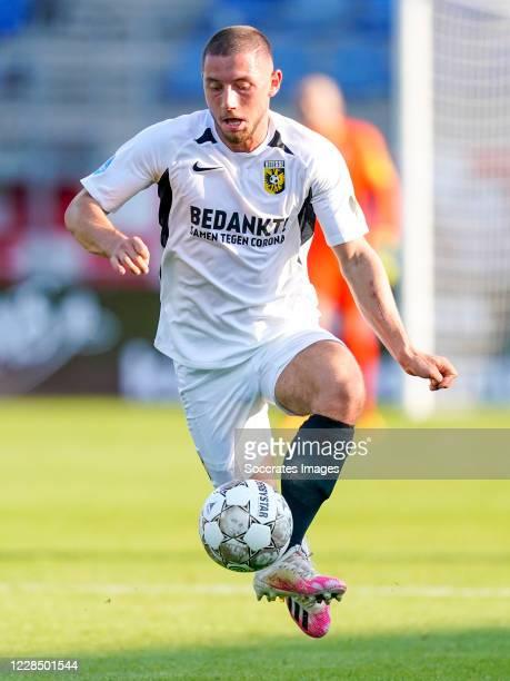 Maximilian Wittek of Vitesse during the Dutch Eredivisie match between RKC Waalwijk v Vitesse at the Mandemakers Stadium on September 13, 2020 in...