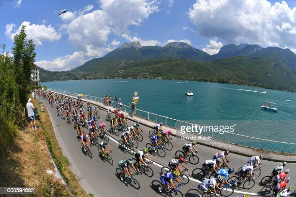 Maximiliano Ariel Richeze of Argentinia and Team Quick-Step Floors / Annecy Lake / Peloton / Landscape / during the 105th Tour de France 2018 / Stage...