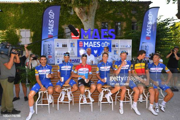 Maximiliano Ariel Richeze of Argentinia, Julian Alaphilippe of France, Niki Terpstra of The Netherlands, Tim Declercq of Belgium, Yves Lampaert,...