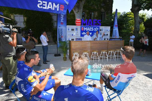 Maximiliano Ariel Richeze of Argentinia, Julian Alaphilippe of France, Niki Terpstra of The Netherlands, Tim Declercq of Belgium, Bob Jungels of...
