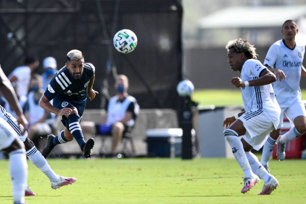 FL: New York City FC v Philadelphia Union - MLS Is Back Tournament