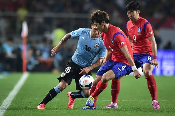 Image result for uruguay vs korea friendly match 2014