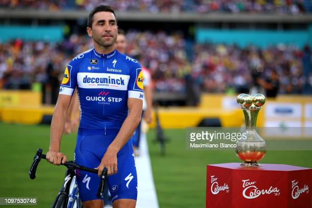 Maximiliano Richeze of Argentina and Deceuninck-Quickstep Team / Trophy / during the 2nd Tour of Colombia 2019 - Team Presentation / Atanasio...