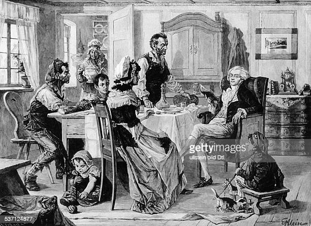 Maximilien de Robespierre Jurist Revolutionaer Frankreich Jakobiner bei der Familie Duplay