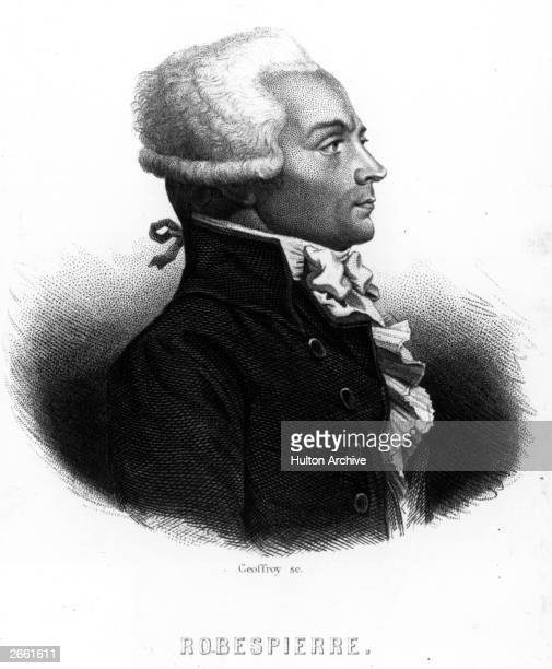 Maximilien Marie Isodore de Robespierre French revolutionary dictator who was sent to the guillotine after playing a leading part in the revolution