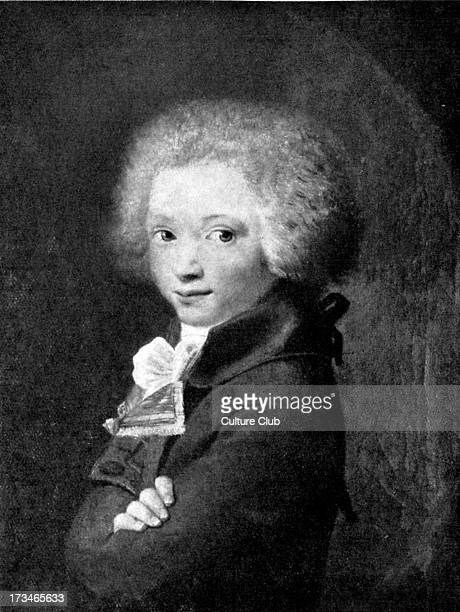 Maximilien Robespierre as an adolescent after J Boze MR Leader of French Revolution instrumental in Committee of Public Safety and the Terror which...