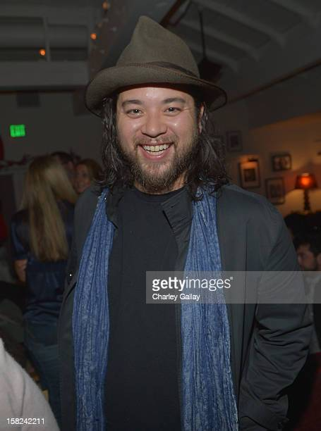 Maximillian Chow attends the I Heart Ronson Holiday Party at The Bungalow on December 11 2012 in Santa Monica California