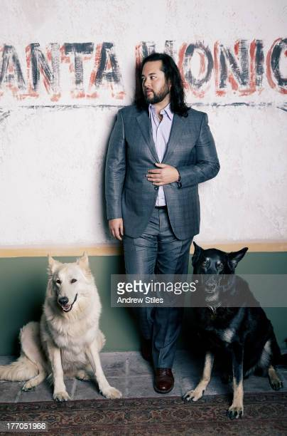 Maximillian Chow of the Mr Chow empire is photographed for Angeleno Magazine on February 19 2013 in Santa Monica California PUBLISHED IMAGE