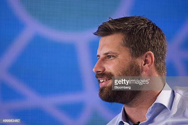 Maximillian 'Max' Bittner chief executive officer of Lazada Group speaks at the Bloomberg ASEAN Business Summit in Bangkok Thailand on Friday Dec 4...