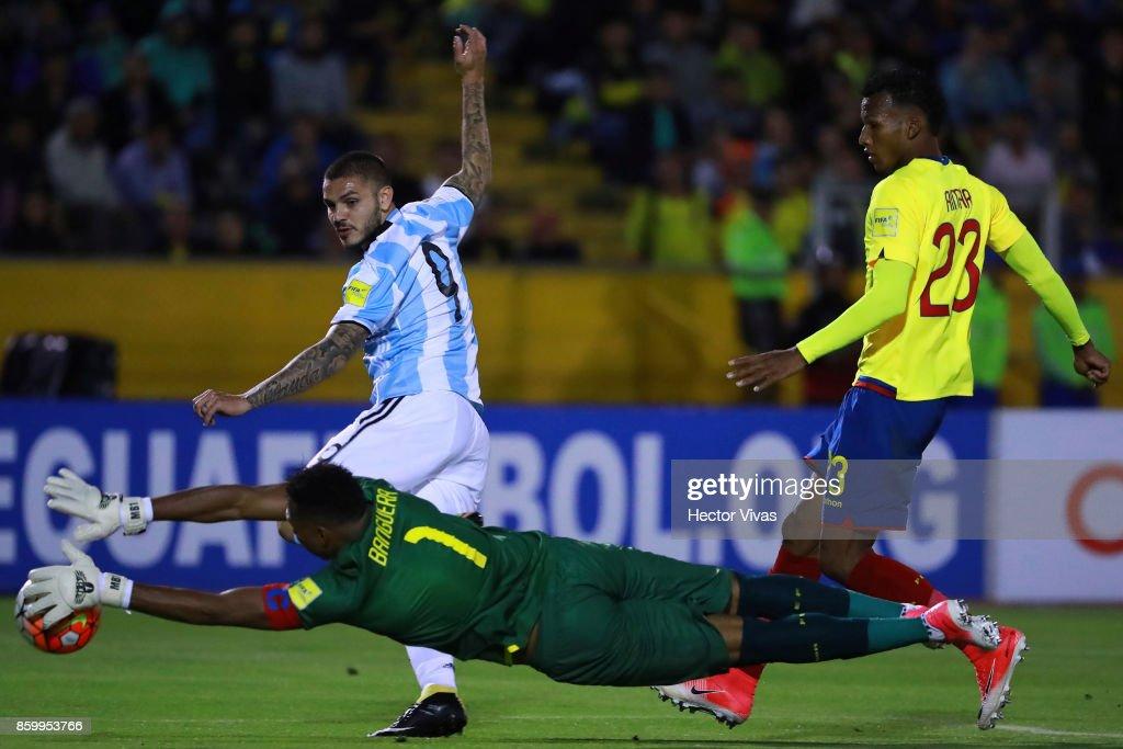 Ecuador v Argentina - FIFA 2018 World Cup Qualifiers : News Photo