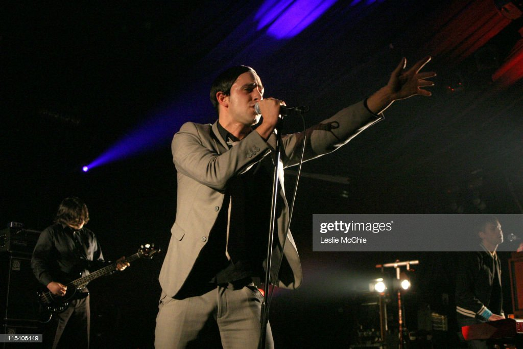 Maximo Park in Concert at the Hammersmith Palais in London - December 7, 2005