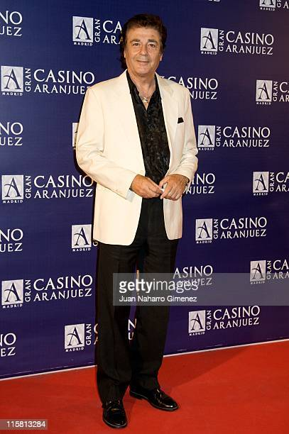 Maximo Valverde attends the Isabel Pantoja concert at Gran Casino of Aranjuez on June 10 2011 in Aranjuez Spain