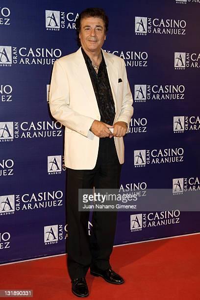 Maximo Valverde attends the Isabel Pantoja concert at the Gran Casino of Aranjuez on June 10 2011 in Aranjuez Spain