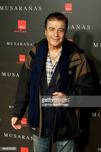 Maximo Valverde attends the Musaranas premiere at the Capitol cinema on December 17 2014 in Madrid Spain