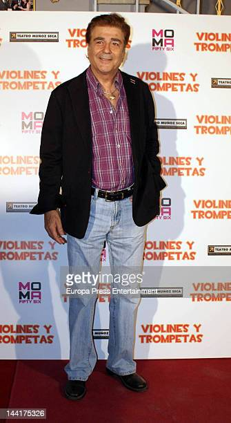 Maximo Valverde attends 'Violines and Trompetas' theatre play premiere on May 10 2012 in Madrid Spain