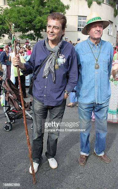 Maximo Valverde is seen in El Rocio Romeria a traditional Spanish pilgrimage on May 15 2013 in Huelva Spain