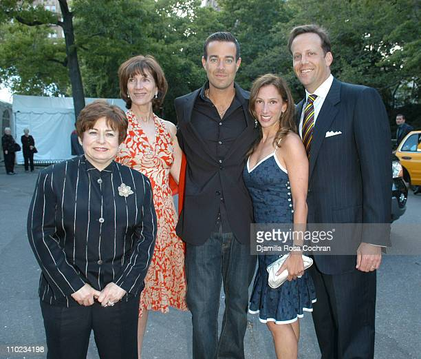 Maxine Clark Jenny Morgenthau Carson Daly Allison Waterman and Todd Waterman