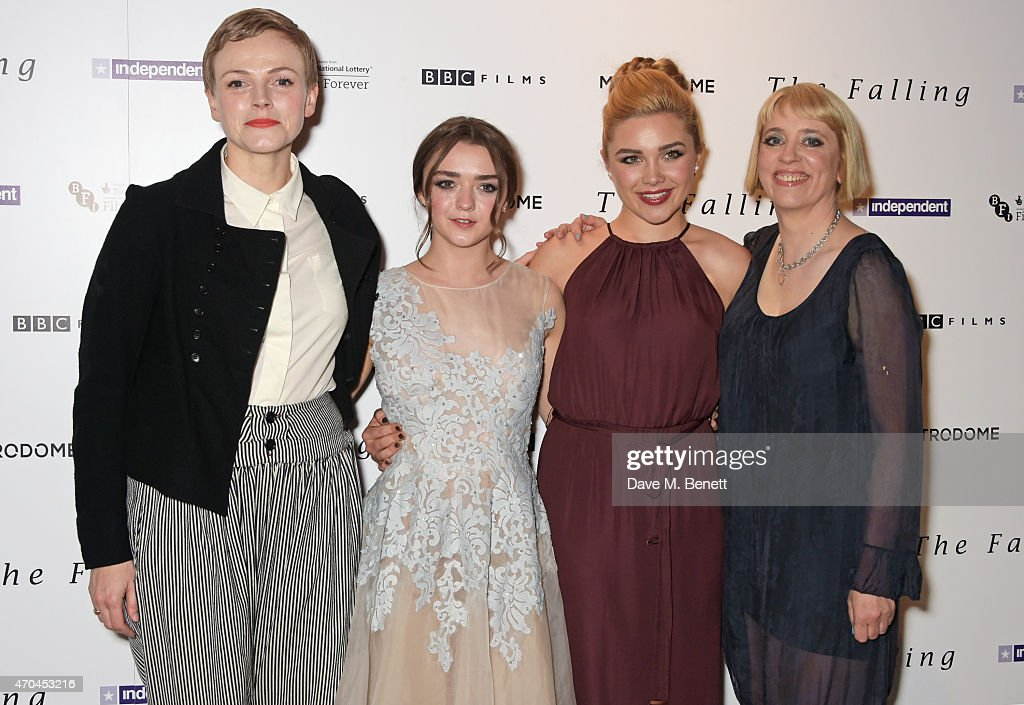 Florence Pugh Na >> Maxine Peake Maisie Williams Florence Pugh And Director