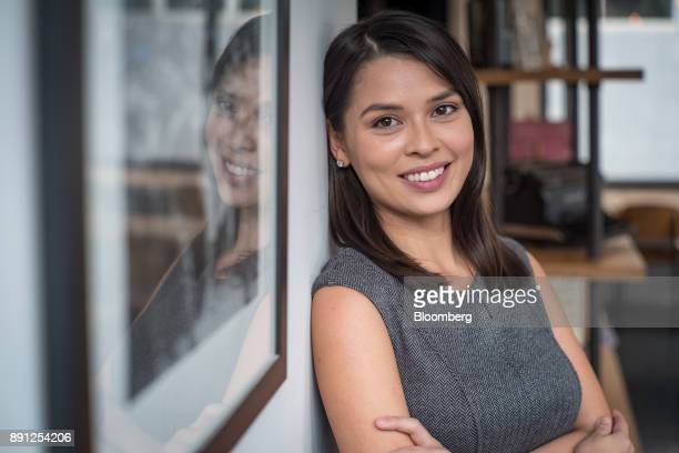 Maxine Ryan cofounder and chief operating officer of Bitspark Ltd poses for a photograph in Hong Kong China on Thursday Nov 16 2017 Ryan dropped out...