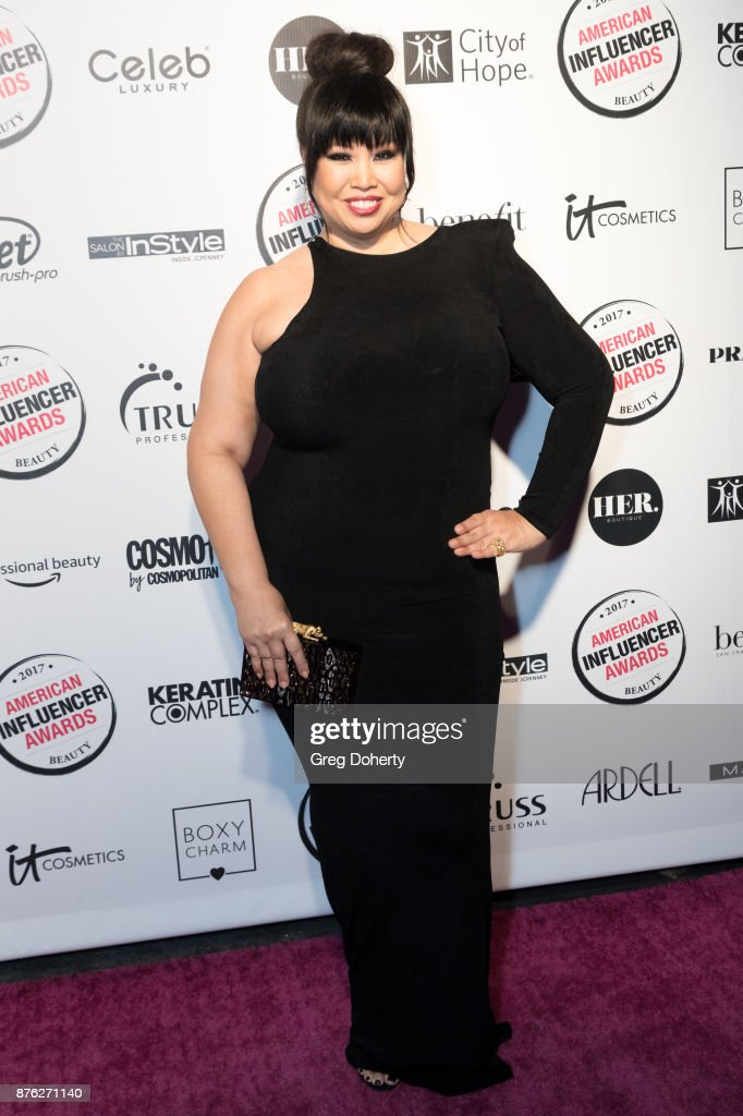 Maxine Tatlonghari attends the American Influencer Award at The Novo by Microsoft on November 18, 2017 in Los Angeles, California.