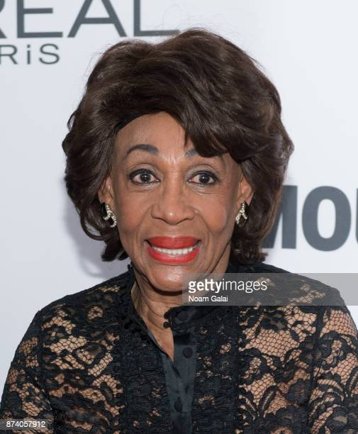 Maxine Waters attends the 2017 Glamour Women of The Year Awards at Kings Theatre on November 13 2017 in New York City