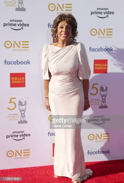 Maxine Waters attends the 50th NAACP Image Awards at Dolby Theatre on March 30 2019 in Hollywood California