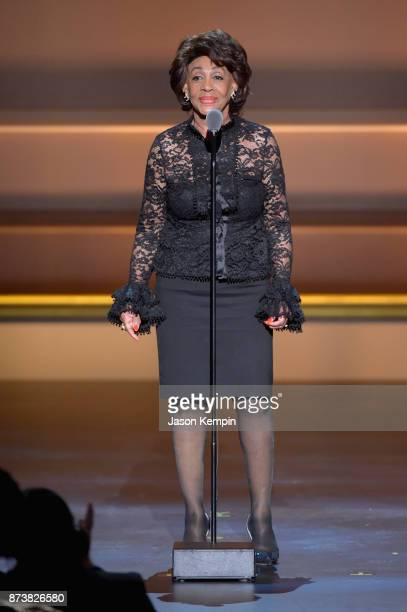 Maxine Waters speaks onstage at Glamour's 2017 Women of The Year Awards at Kings Theatre on November 13 2017 in Brooklyn New York
