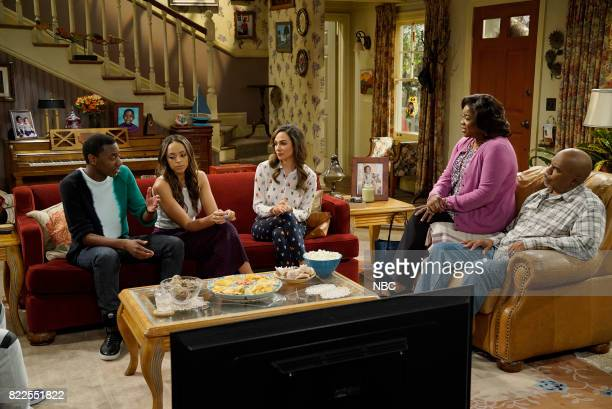 SHOW 'Maxine's Sister' Episode 312 Pictured Jerrod Carmichael as Jerrod Carmichael Amber Stevens West as Maxine North Aurora Perrineau as Kasey North...